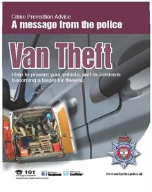 Derbyshire Constabulary Van Theft