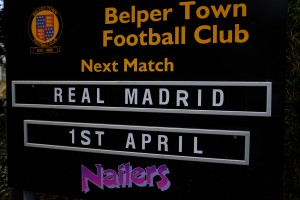 Belper Town v Real Madrid