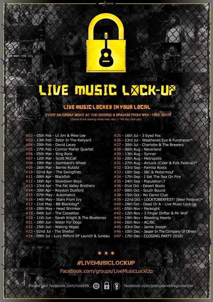 Live Music Lock Up