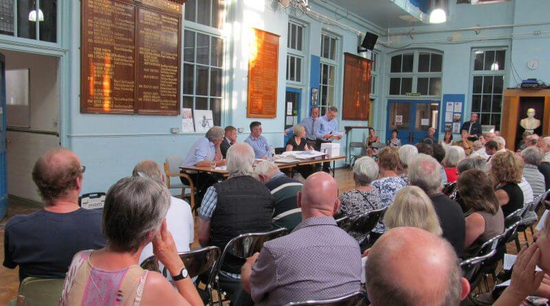 Packed Meeting Vents Frustration at Bullsmoor Planning Process