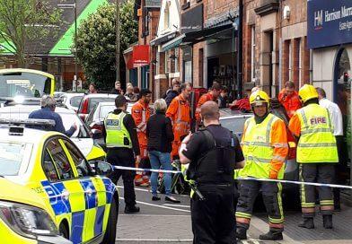 Accident on Strutt Street