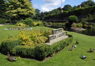 Belper's Beautiful Parks Win Green Flag Award