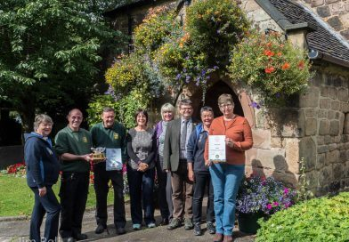 Belper Takes Best Large Town Category In East Midlands In Bloom Award