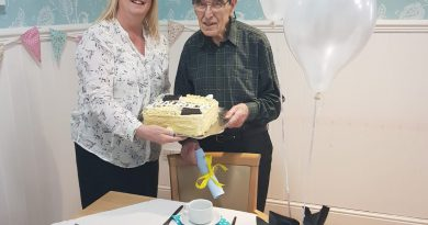 91-Year-Old 'Graduate' Celebrates Success At Local Care Home