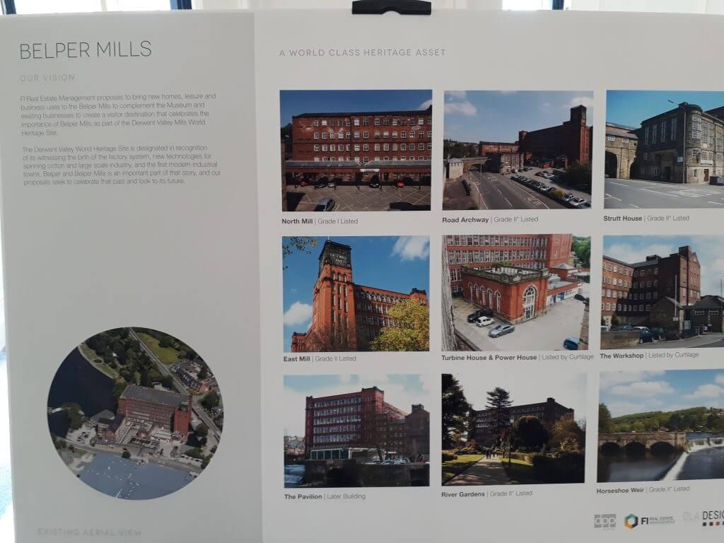 Plans for Belper Mill Renovation 1