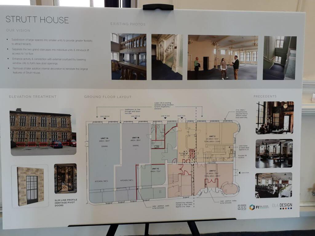 Plans for Belper Mill Renovation 2