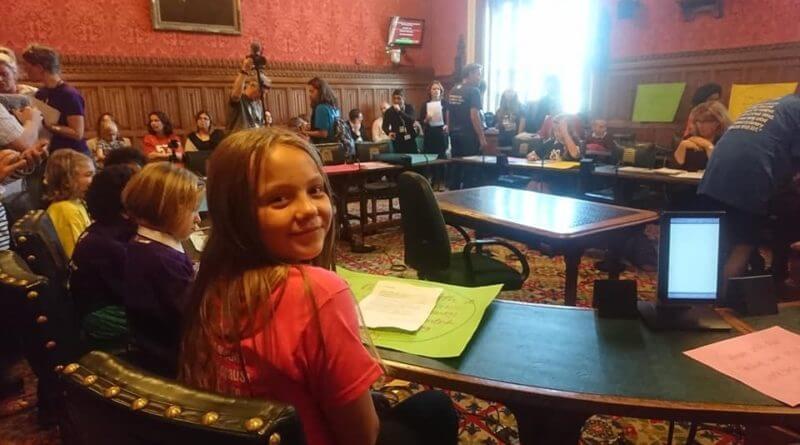 Belper Schoolgirl Challenges MPs