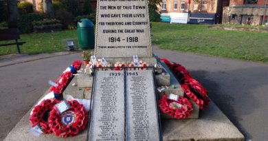 Belper Remembrance Day Events