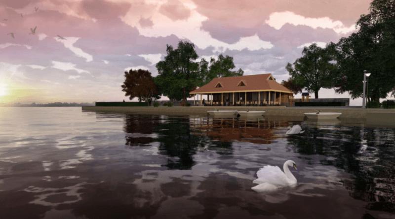 Swiss Tearoom Design for River Gardens