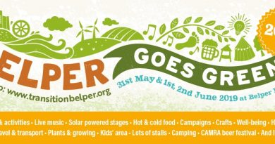 Planning For Belper Goes Green 2019 Now In Full Swing!