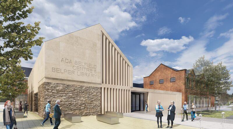 Art for New Library and Care Home