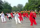 World Tai Chi Day in Belper River Gardens