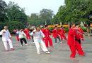 World Tai Chi Day in Belper River Gardens