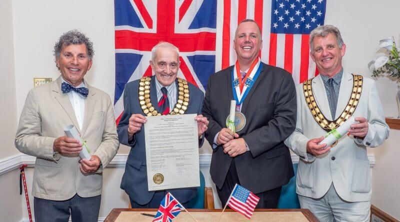 The Resigning of the Twinning Compact & 270th Anniversary of Belper Market