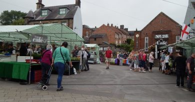 Belper Market Returns With Social Distancing