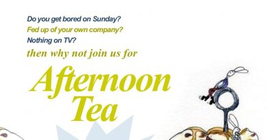 Afternoon Tea For Over 55s