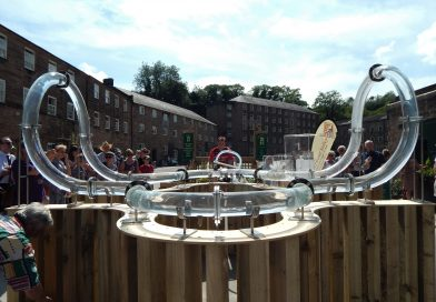 Mr. Arkwright Art Installation @ Cromford Mill