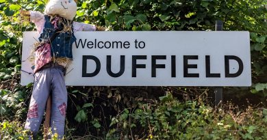 Duffield Scarecrow Festival in Pictures