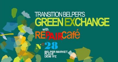 Green Exchange & Repair Cafe – February
