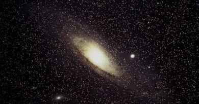 Space Is The Place: The Night Sky Over Belper, October 2021